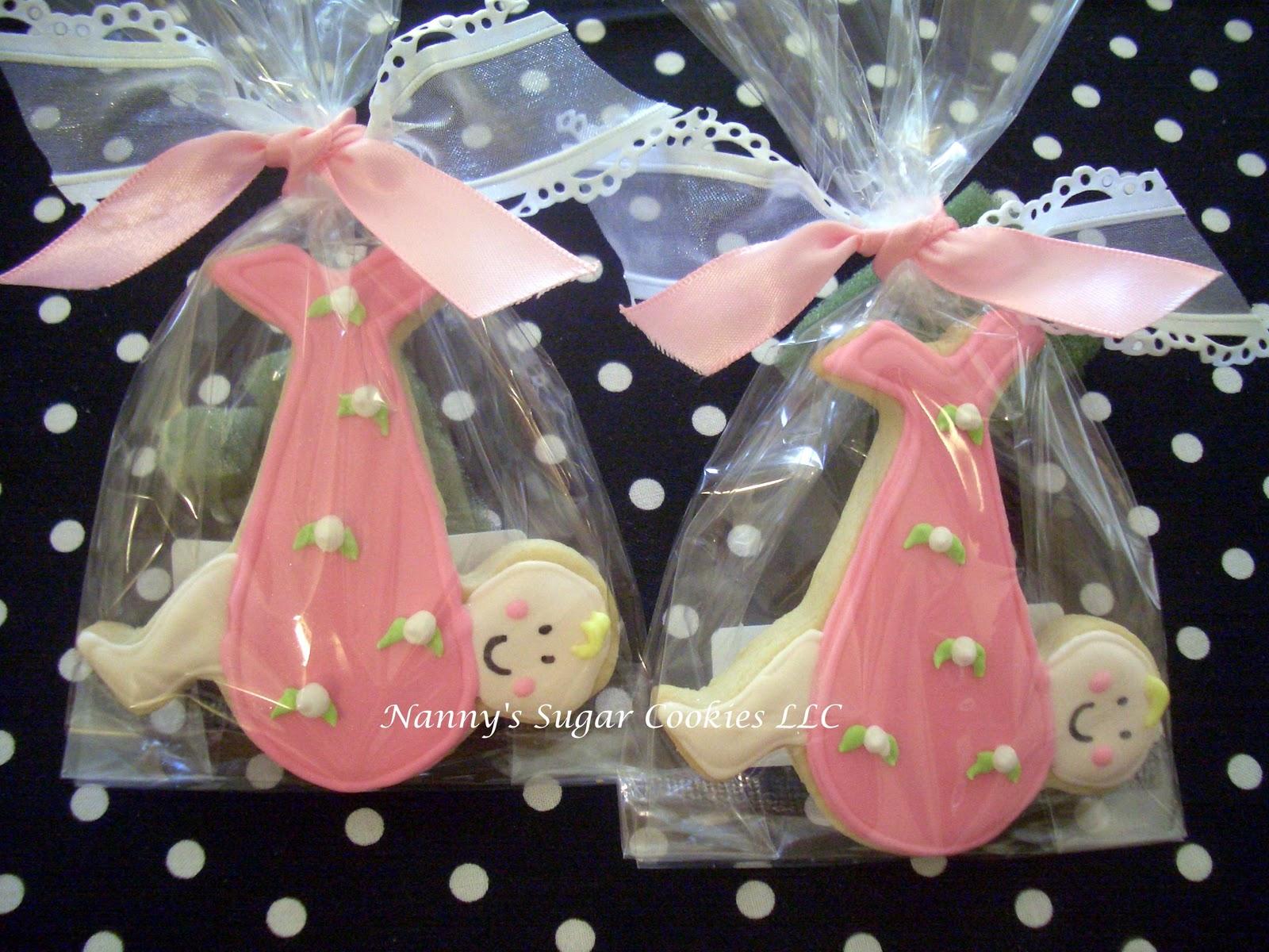 Nanny\'s Sugar Cookies LLC: Baby Shower Cookies