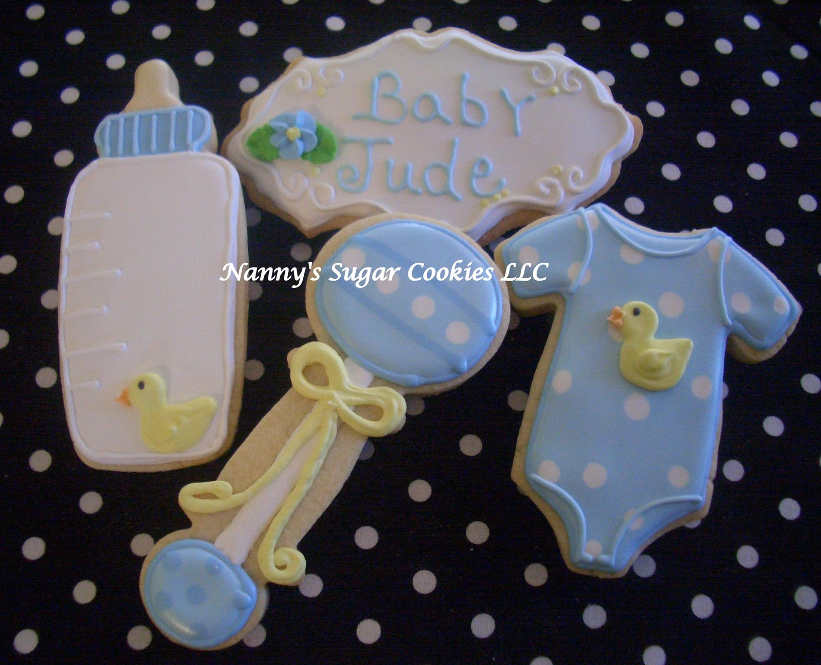 Baby Shower Cookie Images ~ Nanny s sugar cookies llc baby shower cookies