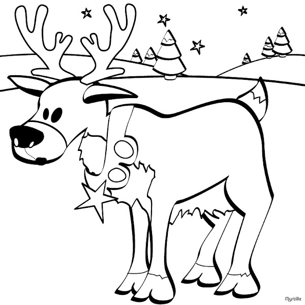 Funny Christmas Coloring Pages