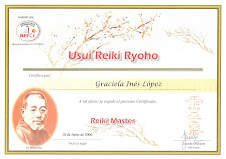 Maestra Usui Reiki Ryoho