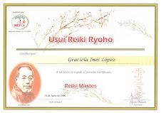 Maestría Usui Reiki Ryoho
