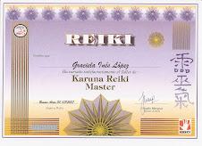 Maestría Karuna Reiki