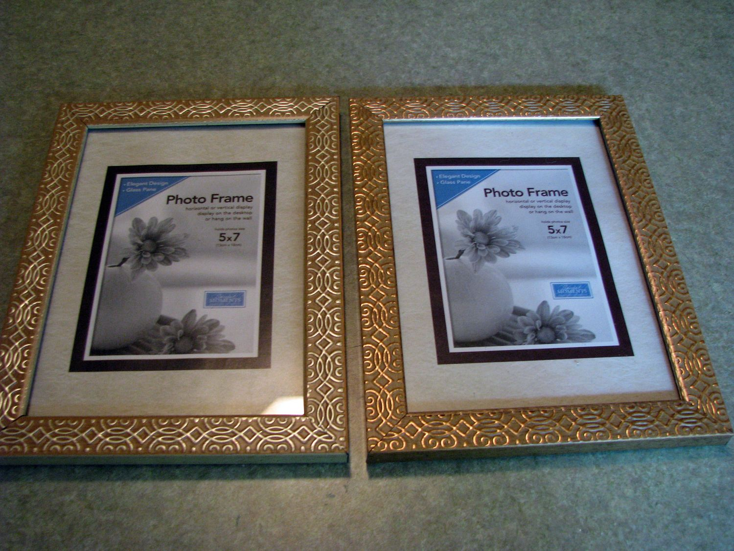 i picked up the frames at the dollar tree