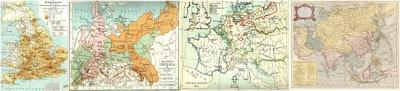 england, eastern europe, western europe, asia