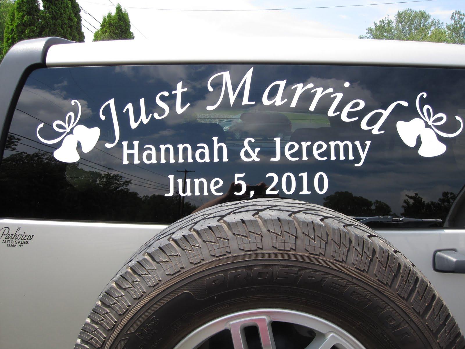 PAPERPASTIME: Wedding Car Vinyl
