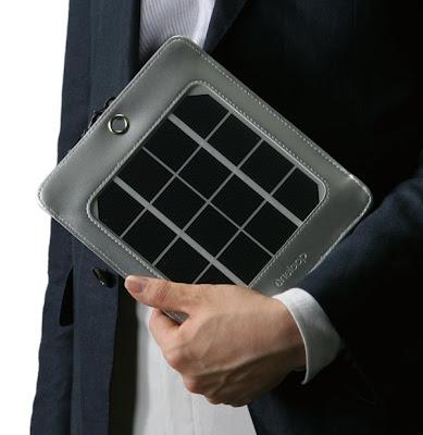 sanyo.personal.solar.panel Sanyos personal solar panel