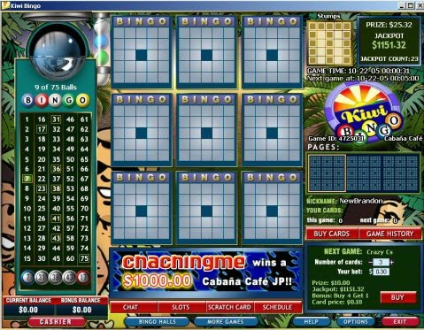free bingo games no download or registration
