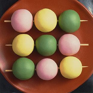 Dango-japanese foods, Japanese snack food,