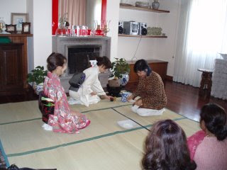 Japanese Art of tea ceremony