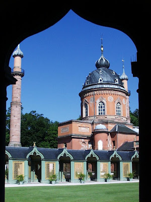 The Red Mosque in Schwetzingen (Germany)