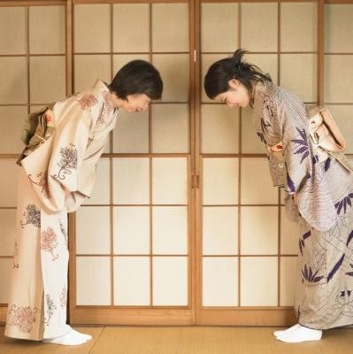 Kimono - traditional clothing of Japan
