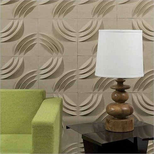 Unik 3D wallpaper green solution