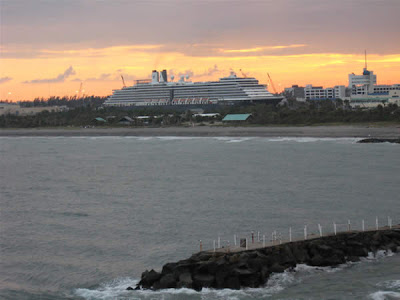 Departing Port Everglades