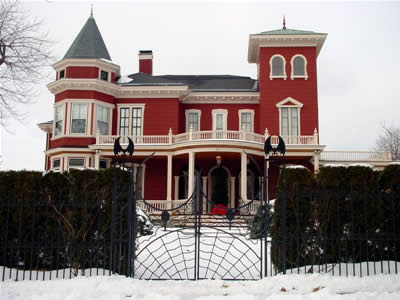 Author Stephen King's Home, Bangor, Maine