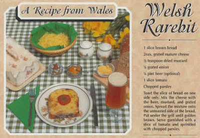 Recipe, Welsh Rabbit or Welsh Rarebit?