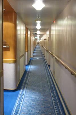 Cabin D505, hallway