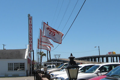 Middendorf's Restaurant 75th Anniversary Banners