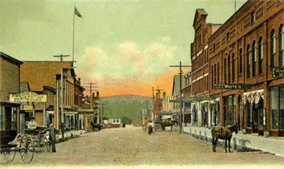 Downtown Farmington, Maine