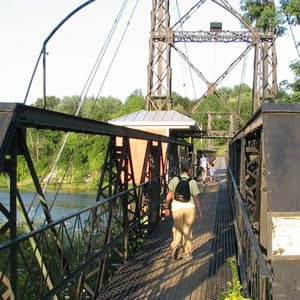 Two Cent Footbridge, Waterville, Maine
