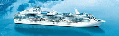 Island Princess at sea