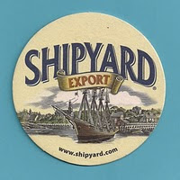 Shipyard Brewery bar coaster