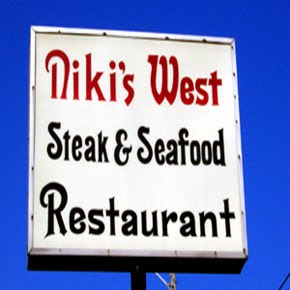 Sign: Niki's West