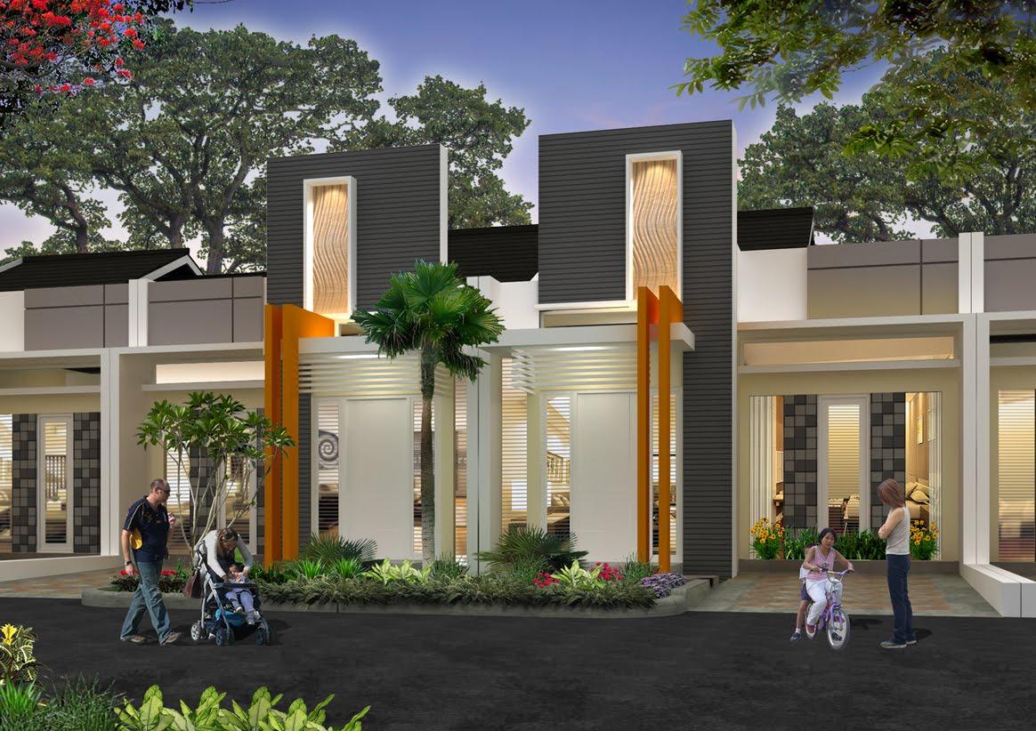 rumah minimalis modern 1 lantai terbaru