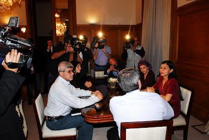 reunion en Casa Rosada