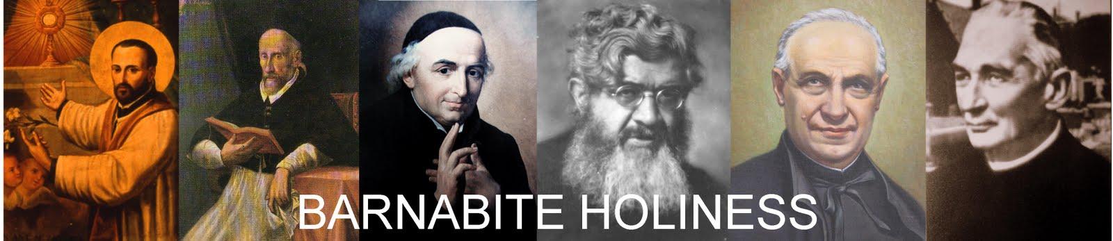 BARNABITE HOLINESS