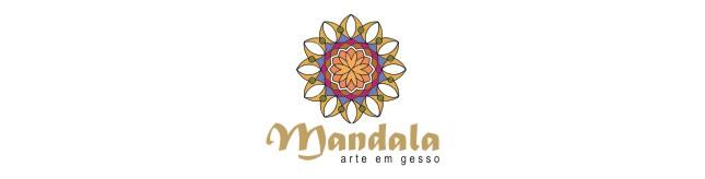 Mandala - Arte em gesso