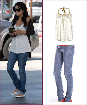 Bastardization, or dressing up a casual look? You tell me! Vanessa Hudgens