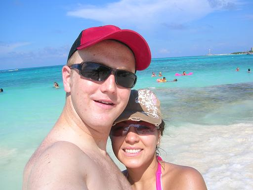Honeymoon in Cancun, Mexico