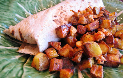 Make+ahead+healthy+breakfast+burritos