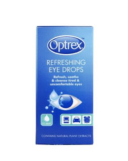 Using Optrex On Cats Eyes