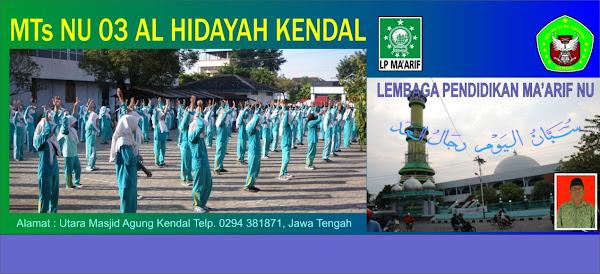 MTs NU 03 AL HIDAYAH KENDAL
