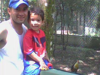 Nos divertimos muito no Zoo!!