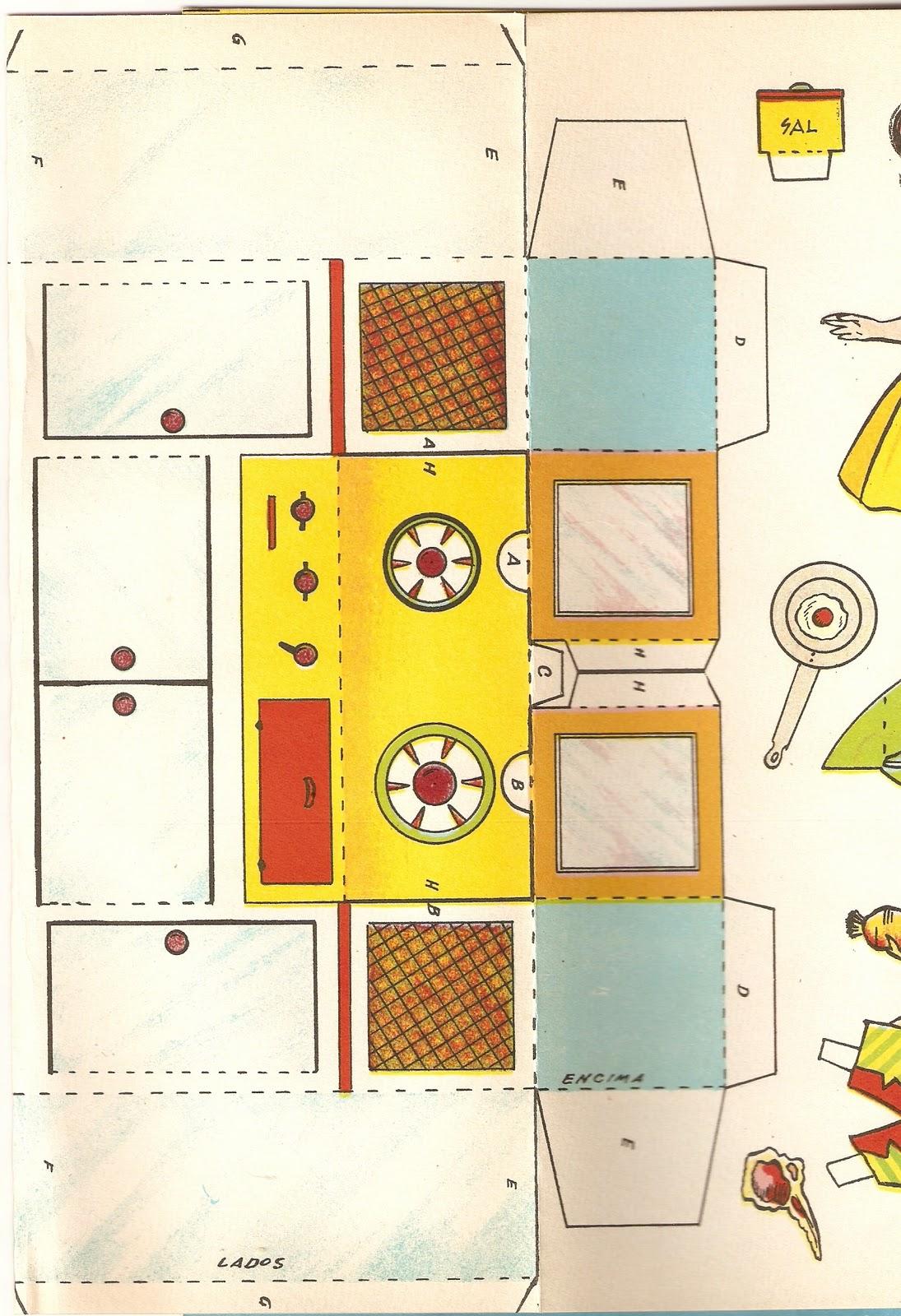 Muebles de cocina para armar de papel ideas for Como armar mi cocina
