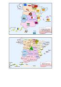 Comunidades Autónomas y Provincias de España (comunidades autã³nomas provincias )