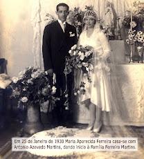 O casamento em 1930