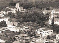 Altinópolis vista do avião