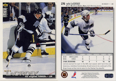 Eric Lacroix, Los Angeles Kings, Upper Deck, 95-96, Collector's Choice, hockey, hockey cards