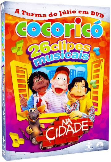 134509 Ampliada Cocoricó 26 Clipes Musicais na Cidade DVD R