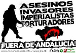 ¡FUERA EJÉRCITOS IMPERIALISTAS DE ANDALUCÍA!
