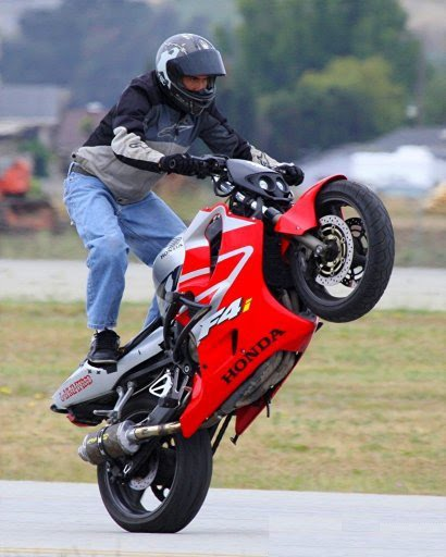 bike stunts. super ike stunts