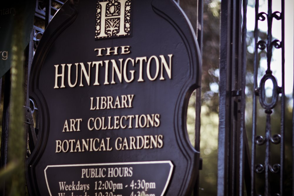 Huntington Library Entrance