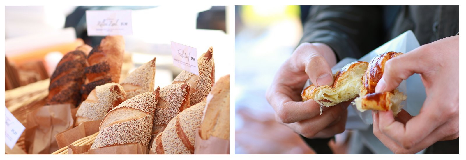 Davis Farmers Market Bread Croissant