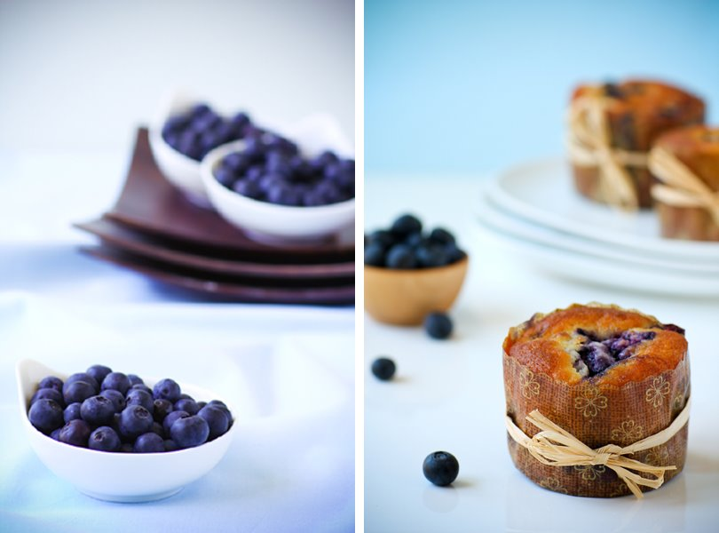 Galit Greenfield, Bake Your Dreams Come True, Blueberry Muffins