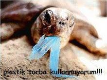 plastik torba kullanmamalı:)