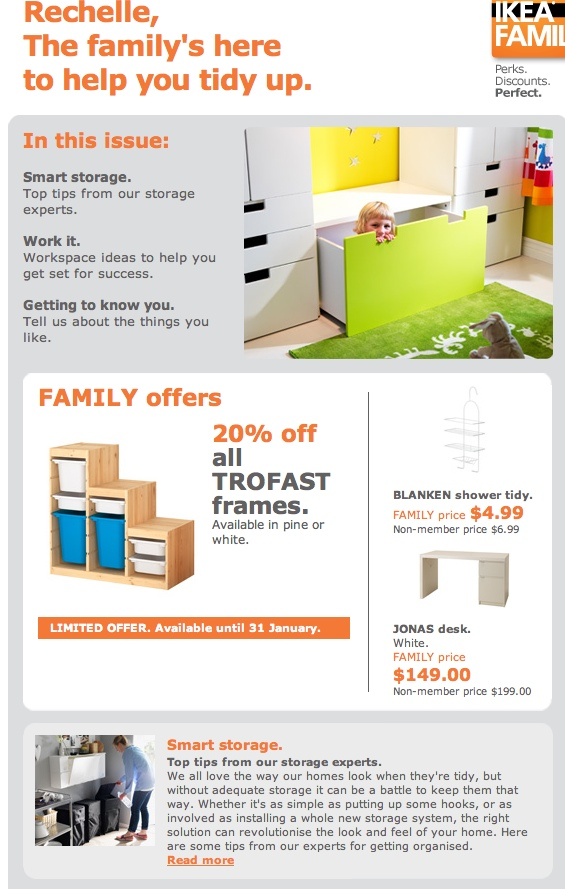 Ikea Family Out Of The Box