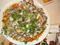 Cooked Manila Clams